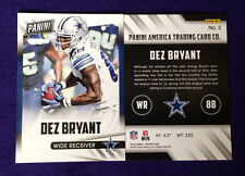 2015 Panini Fathers Day DEZ BRYANT #2 Cowboys/Oklahoma State Free Shipping