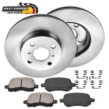 Front Rotors & Ceramic Pads For 1998 1999 2000 2001 2002 Toyota Corolla Chevy
