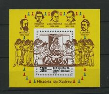 (W0844) GUINEA-BISSAU 1983, CHESS, MI BLOCK 250, MNH/UM, SEE SCA