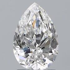 Charles and Colvard Forever One DEF Moissanite 4X2mm Pear With Certificate
