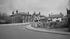 B/W Negative Pewsey Wiltshire County Police Station 1940s + Copyright DB635