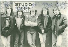 AC/DC GROUP BAND SIGNED AUTOGRAPHED 6x9 RP PHOTO ANGUS MALCOLM BRIAN AC DC YOUNG