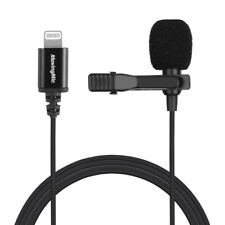 Professional Lapel Lavalier Microphone for smart phone iPhone 5 6 7 8 11 X ipad