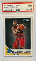KEVIN PORTER JR RATED ROOKIE 2019 PANINI DONRUSS CARD 228 PSA GRADED 9 CAVALIERS