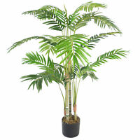 120cm (4ft) Premium Artificiel Areca Palmier avec Pot LEAF-7296