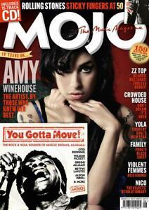 MOJO #333 Amy Winehouse , August 2021 (MAGAZINE & CD)