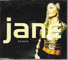 JANE - Heaven CD SINGLE 4TR Eurodance 1998 (Hawk Records) Skandinavia