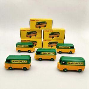 1/43 Lot Of 5pcs Atlas Dinky Toys 25B Peugeot Fourgon Tole D.3.A LAMPE MAZDA