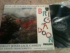 BRIGADOON ~SHIRLEY JONES ~ MUSICAL~ LP ~ EX/VG ~ PHILIPS BBL 7257 ~ FREEPOST UK