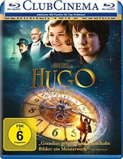 HUGO CABRET SINGLE SACHA BARON COHEN, CHRISTOPHER LEE 3D BLU-RAY NEU