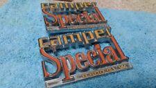 1973 1980 Chevy Truck Parts CAMPER SPECIAL Emblems Badges Trim Original Vintage