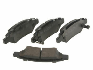 For 2008-2014 Cadillac CTS Brake Pad Set Rear Akebono 34821FV 2011 2012 2009