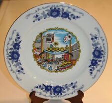 Vintage Souvenir Plate~Reno, NV~Biggest Little City in the World