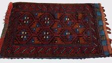 Antique /Vintage Persian style Afghan rug / pillow cover/ Rug/Carpet:  83 x 48cm