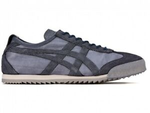 Asics Onitsuka Tiger Women MEXICO 66 DELUXE 1182A535 MAKO BLUE With Shoe Bag