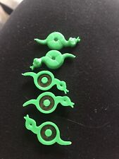 VINTAGE BEWITCHED BOARD SPARE PIECES WADDINGTONS 1988 5 X SNAKES (magnetic)
