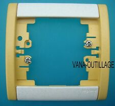 LEGRAND SAGANE Plaque double verticale  Silex Cendre Gris 85071 850 71