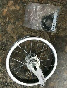 12-1/2x2-1/4 203x25 COASTER BRAKE W/TRIM KIT REAR Steel Bicycle Wheel CHROME