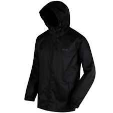 *Regatta Pack-It Mens Black Gents  Waterproof Breathable  Packaway Jacket*