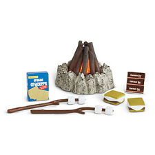 NIB~American Girl~Just Like You~~~Campfire Treats and Campfire Accessories
