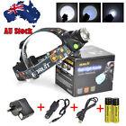 AU BORUIT 12000LM Headlamp XM-L2 T6 LED Headlight Head Torch USB Lamp 2 x 18650