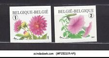 BELGIUM - 2007 FLOWERS SG#4134-4135 SELF-ADHESIVE STAMPS 2V MNH