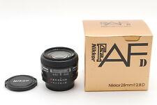 [MINT in Box] Nikon AF Nikkor 28mm f/2.8 D AF-D Lens From Japan #805
