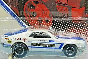 HOT WHEELS VHTF 2011 VINTAGE RACING SERIES ED TERRY'S 70 FORD MUSTANG MACH 1