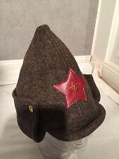 UDSSR SOVIET CCCP BUDJONNY MÜTZE MIT ROTEM STERN