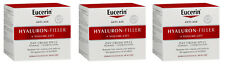 3 x Eucerin Hyaluron Filler + volume lift, Normal to combination skin, SPF 15.