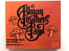 THE ALLMAN BROTHERS BAND - Gilford NH 25/8/06 Instant Live 3CD