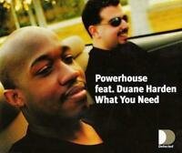 Powerhouse - What You Need (3 trk CD)