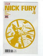 Nick Fury # 5 Regular Cover Marvel NM