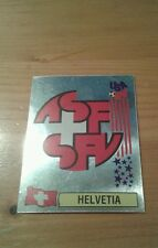 N°39 BADGE LOGO FOIL # HELVETIA PANINI USA 94 WORLD CUP ORIGINAL 1994