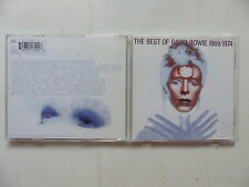 CD Album DAVID BOWIE The best of David Bowie 1969/1974 7243 8 21849 2 8