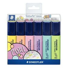Staedtler Textsurfer Classic Highlighter 364 in Pastel Colors Wallet of 6
