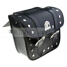 2 x moto sacoches de selle sacs pochette pour Harley