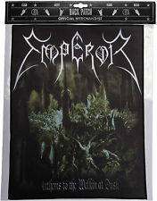 Emperor Anthems to the Welkin at dusk Back Patch schiena ricamate OFFICIAL Merch