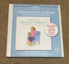 Hallmark Recordable Book - What's That in Mommy's Tummy? Brand New