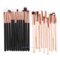 12Pcs Rose Gold Makeup Brush Set Professional Eyeshadow Eye Cosmetic Brush Tools