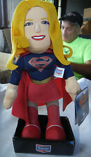 "SUPER GIRL Bleacher Creatures 10"" plush doll NEW W/ Tag DC Comics"