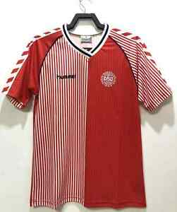 Denmark 1986 Home Retro Soccer Jersey Fans Football Shirt Kits New Arrivals