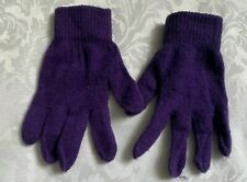 GIRLS PURPLE GLOVES