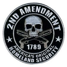 2nd Amendment Homeland Security Tactical USA Army Morale Hook&Loop PATCH