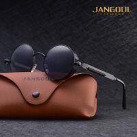 Neu Polarisiert Steampunk Sonnenbrille Herren Fahren Draussen Spiegel Brillen