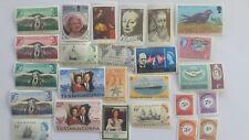 25 Different Tristan da Cunha Stamp Collection