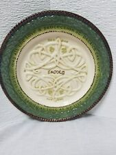 Irish Blessings Family Decorative Plate with Irish Celtic Knots & Shamrocks