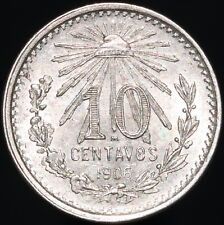 More details for 1906 | mexico 10 centavos | silver | coins | km coins