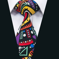 Newest Style Men's Cotton Tie Colorful Novelty Necktie for Party Wedding DN-1347