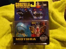 1995 TRENDMASTERS GODZILLA WARS MOTHRA WITH COLLECTIBLE MONSTER HATCHLINGS NEW